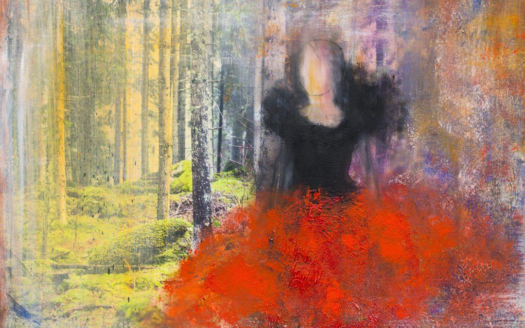 Tales of nature (Foto Anna Nordström, måleri Emilia Linderholm)
